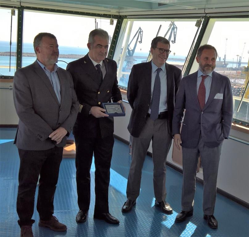 The Port Of Sagunto Receives The Largest Ship Of The Grimaldi